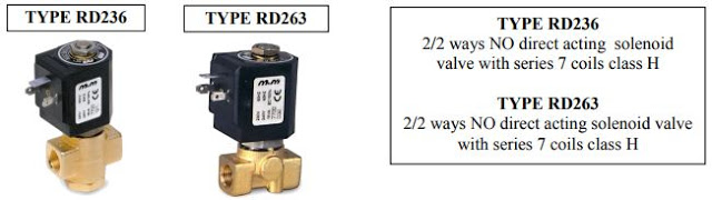 Solenoid Valve Applications Thermoconvector Ovens