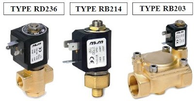 Valves used for Air compressor applications