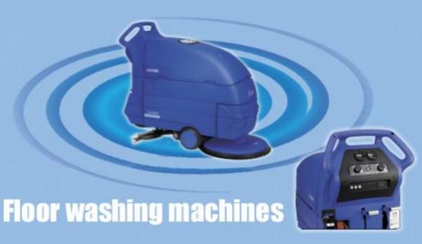 solenoid valves in floor washing machines; floor washing machines