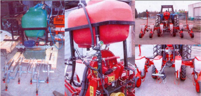 solenoid valves in sowing machines; sowing machines